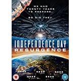 Independence day Filmer Independence Day: Resurgence [DVD]